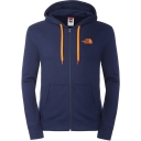 Mens Open Gate Full Zip Hoodie Light