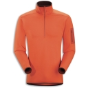 Mens Lorum Zip Neck Top