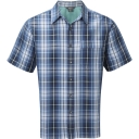 Mens Plateau Plaid Short Sleeve Shirt