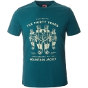 Mens Short Sleeve Mountain Celebration Tee