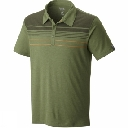 Mens Frequentor Short Sleeve Stripe Polo