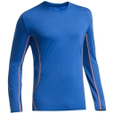 Mens Aero Long Sleeve Crewe