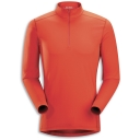 Mens Phase AR Zip-Neck Long Sleeved Baselayer