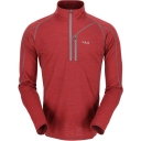 Mens MeCo 190 Long Sleeve Zip Tee