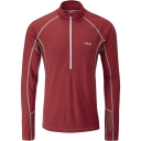 Mens Confluent Long Sleeve Zip Tee