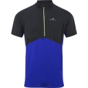 Mens Trail Short Sleeve Zip Tee