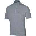 Mens Ridge II Short Sleeve Zip Tee
