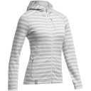 Womens Cascade Long Sleeve Zip Hood Stripe