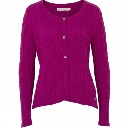 Womens Cable Knit Cardi