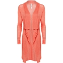Womens Briony Knitted Long Length Cardigan
