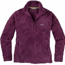 Womens Isla Fluffy Half Zip Fleece