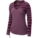 Womens DrySpun Burnout Long Sleeve Hoody