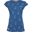 Womens Anchor Boyfriend Tee