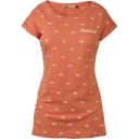 Womens Polka Dot Bicycle Boyfriend Tee