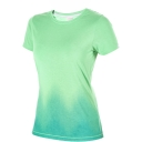 Womens Gradient Print T-Shirt