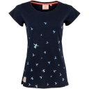 Womens Blue Bird Scoop Neck Tee