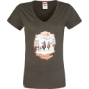 Womens Short Sleeve Never Stop Exploring Series Tee