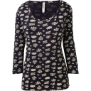 Womens Samantha 3/4 Sleeve Top
