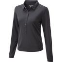 Womens NosiLife Keisha Long Sleeve Polo