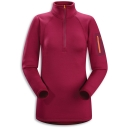 Womens Rho AR Zip Neck Fleece