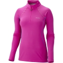 Womens Long Sleeve 1/2 Zip Top