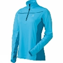Womens Actives Cool Q Zip Top
