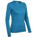Womens Oasis Long Sleeve Crewe Stripe
