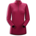 Womens Phase AR Long Sleeve Zip Neck Top