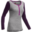 Womens Oasis Long Sleeve Henley