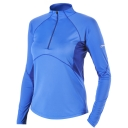 Womens Vapour Long Sleeve Zip Neck