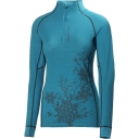 Womens HH Warm Flow High Neck 1/2 Zip