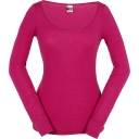 Womens Everyday Long Sleeve Scoop Neck Tee