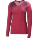 Womens HH Warm Long Sleeve V Neck