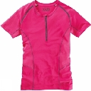 Womens 1/2 Zip Short Sleeve 2