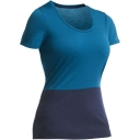 Womens Tech Lite Short Sleeve Scoop Tee - 2 Tone