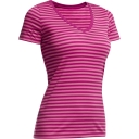 Womens Tech Lite Short Sleeve V Neck Tee