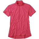 Womens Ridge Short Sleeve Zip Tee