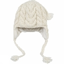 Womens Cable Earflap Hat