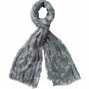 Womens Butterfly Scarf
