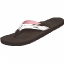 Womens Stitched Cushion Sandal