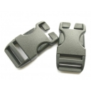 Side Squeeze Buckle 25mm (Pack of 2)