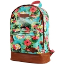 Womens Flamingo and Toucan Backpack