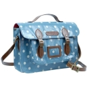 Womens Polka Satchel