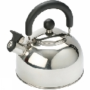 Stainless Steel Kettle with Folding Handle 2L