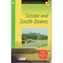Sussex and South Downs: Pathfinder Short Walks 24