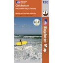 Explorer Map 120 Chichester, South Harting and Selsey
