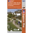 Explorer Map 181 Chiltern Hills North