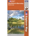 Explorer Map 278 Sheffield and Barnsley