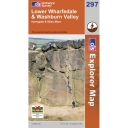Explorer Map 297 Lower Wharfedale and Washurn Valley