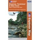 Explorer Map 404 Braemar , Tomintoul and Glen Avon